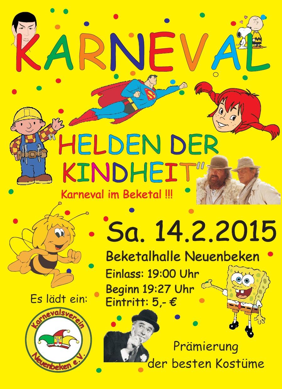 2015 Flyer Karneval