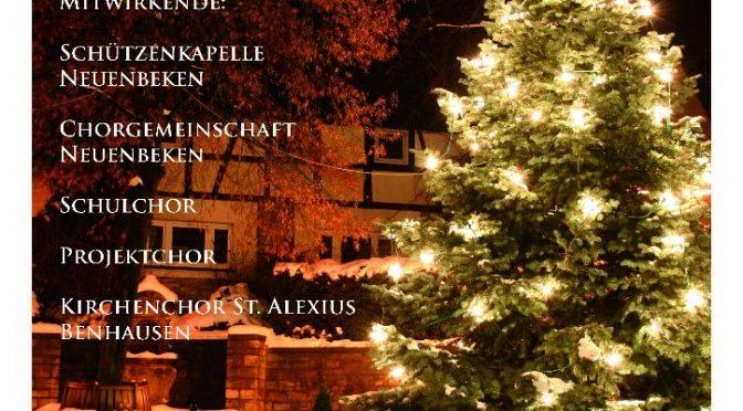 Weihnachtliches Konzert am 14.01. um 17:00 Uhr